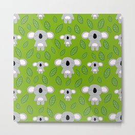 Cute koala bears Metal Print