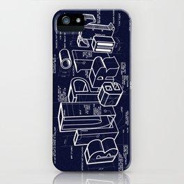 Blueprint iPhone Case