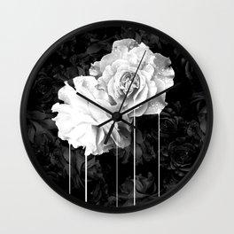 flowers 77 Wall Clock