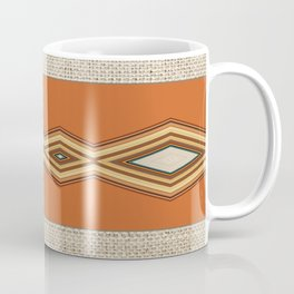 Southwestern Earth Tone Texture Design Coffee Mug