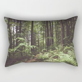 Woodland - Landscape and Nature Photography Rectangular Pillow