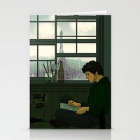 grantaire Stationery Cards featuring Grantaire by rdjpwns
