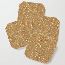 Gold Glitter Coaster