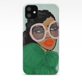 Green Coat iPhone Case