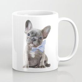 French bulldog, Frenchie, Blue Grey by Amanda Greenwood Coffee Mug
