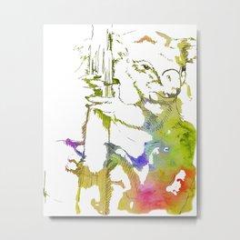 Koala Gravitas - Ria Loader Metal Print