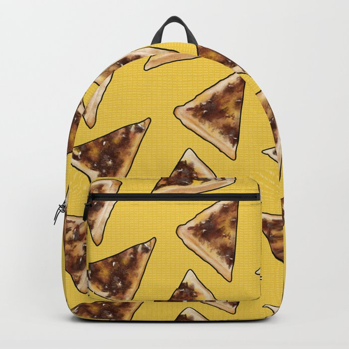 Vegemite on Toast Dreams in yellow Rucksack