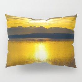 Sunset at Glacier NP Pillow Sham
