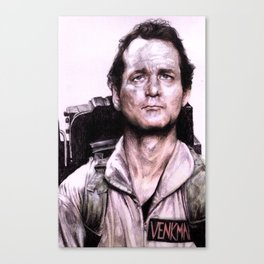 Peter Venkman from Ghostbusters Canvas Print