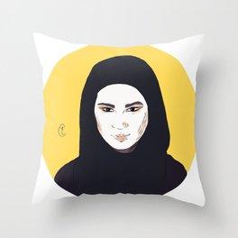 Queen Sana Throw Pillow