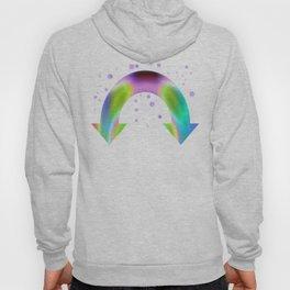 rainbow reactive Hoody