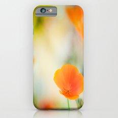 Poppy Rainbow iPhone 6s Slim Case