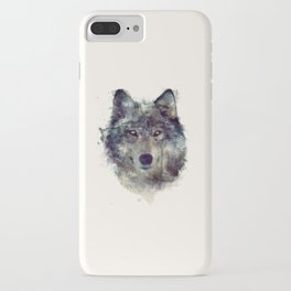 Wolf // Persevere  iPhone Case