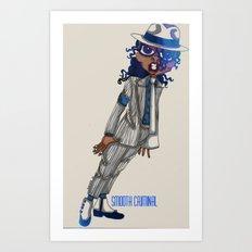 Smooth Criminal Art Print