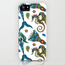 Mermaids Sea iPhone Case