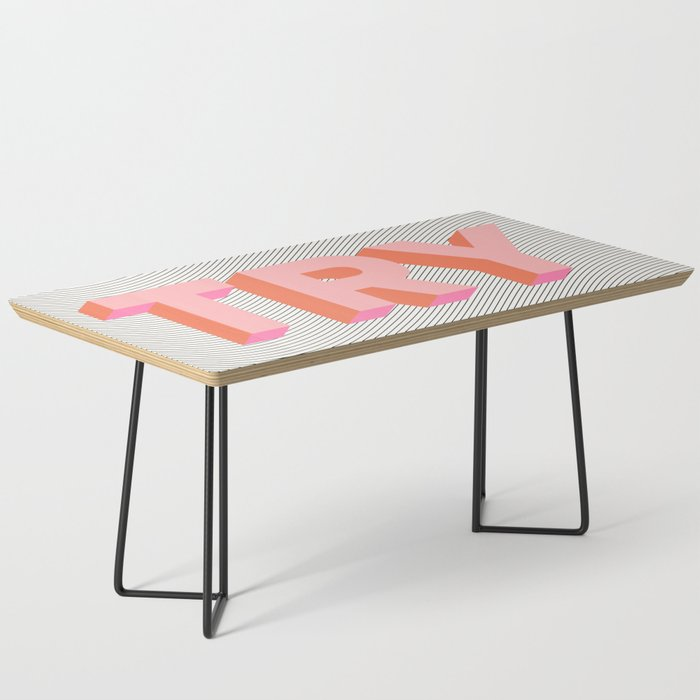 TRY Coffee Table