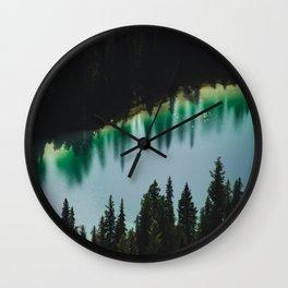 Johnson Lake Wall Clock