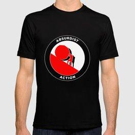 Sisyphus Absurd Absurdism Philosophy antifascism T-shirt