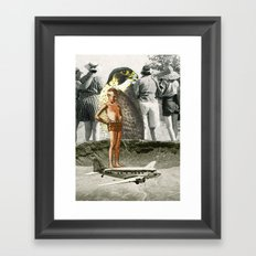 Remember: Be Yourself Framed Art Print