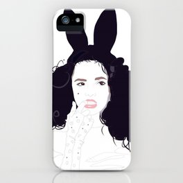 Bunny Ears & Lace iPhone Case