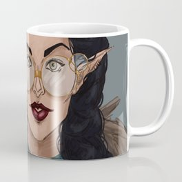 Vex in Percy's Glasses Coffee Mug