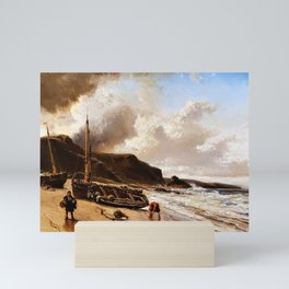 12,000pixel-500dpi - Seascape - Eugene Isabey Mini Art Print