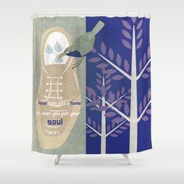 Original house 7 Shower Curtain