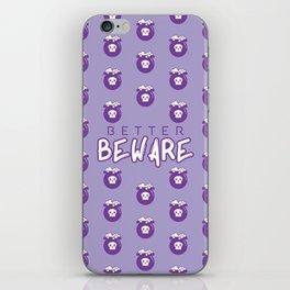 Beware iPhone Skin