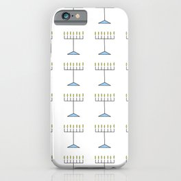 Menorah 17 iPhone Case