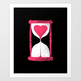 time to waste Art Print