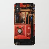 istanbul iPhone & iPod Cases featuring Istanbul by Seza Kaymak