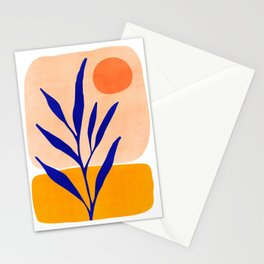 Golden Afternoon II / Abstract Landscape Stationery Cards