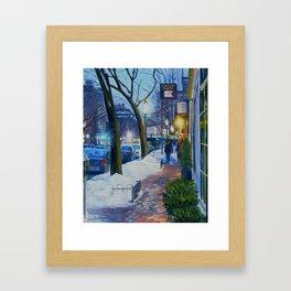Charles Street Boston Framed Art Print