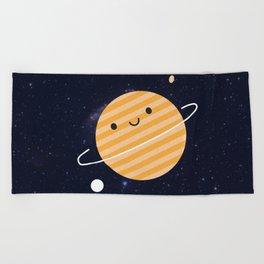 Happy Planet Beach Towel
