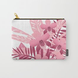 Bouquet of pink tropical plants Carry-All Pouch