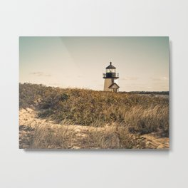 Nantucket Lighthouse Metal Print