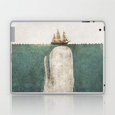 The Whale - vintage option Laptop & iPad Skin