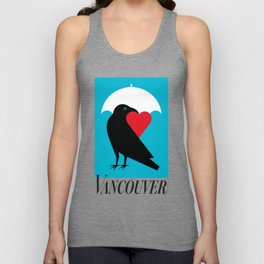 Vancouver's Canuck the Crow Unisex Tank Top