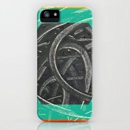 Junction - color hexagon iPhone Case