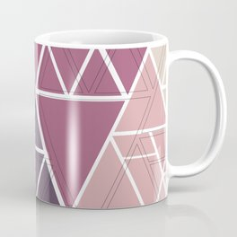gradient triangles Coffee Mug