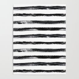 Grungy stripes Poster