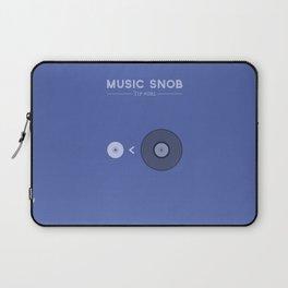 "NOT ""The New Vinyl"" — Music Snob Tip #082 Laptop Sleeve"
