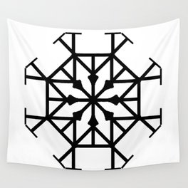 Geometric Roundhouse Wall Tapestry