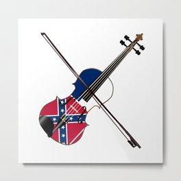Mississippi Fiddle Metal Print