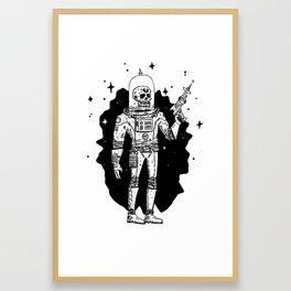 Intergalactic Bone Man Framed Art Print