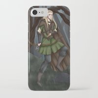 legolas iPhone & iPod Cases featuring Legolas of Mirkwood by Kimberlyn Curtis Artistry