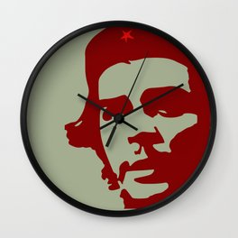 Ernesto Che Guevara the  hero Wall Clock
