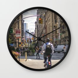 Flatiron District Wall Clock