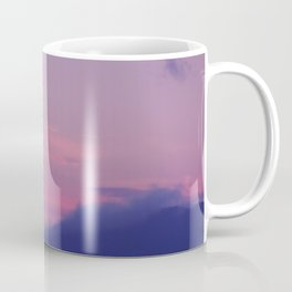 Pink Mountain Sky Coffee Mug