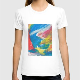 Abstract Artwork Colourful #4 T-shirt